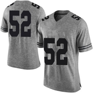 Jackson Hanna Nike Texas Longhorns Men's Limited Mens Football College Jersey - Gray