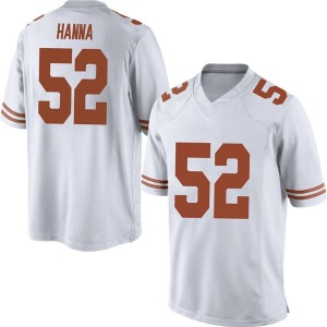 Jackson Hanna Nike Texas Longhorns Men's Replica Mens Football College Jersey - White