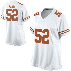 Jackson Hanna Nike Texas Longhorns Women's Replica Football College Jersey - White
