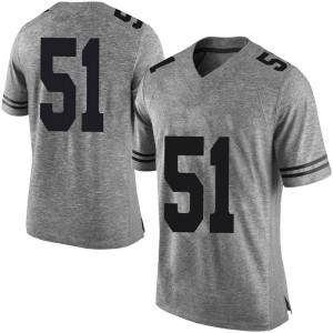 Jakob Sell Texas Longhorns Men's Limited Mens Football College Jersey - Gray
