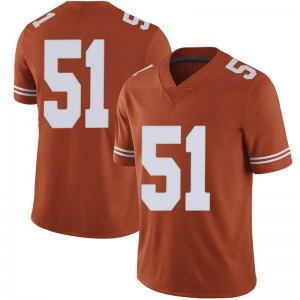 Jakob Sell Texas Longhorns Men's Limited Mens Football College Jersey - Orange