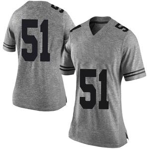 Jakob Sell Nike Texas Longhorns Women's Limited Women Football College Jersey - Gray