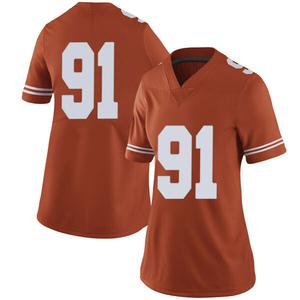 Jamari Chisholm Nike Texas Longhorns Women's Limited Women Football College Jersey - Orange