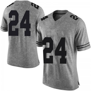 Jarmarquis Durst Nike Texas Longhorns Men's Limited Mens Football College Jersey - Gray