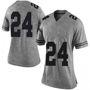 Jarmarquis Durst Nike Texas Longhorns Women's Limited Women Football College Jersey - Gray