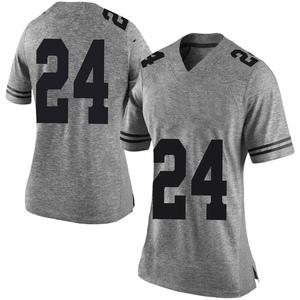 Jarmarquis Durst Nike Texas Longhorns Women's Limited Women Football College Jersey - Gray