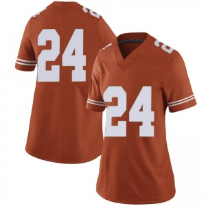 Jarmarquis Durst Nike Texas Longhorns Women's Limited Women Football College Jersey - Orange