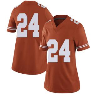 Jarmarquis Durst Nike Texas Longhorns Women's Limited Women Football College Jersey - Orange