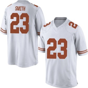 Jarrett Smith Nike Texas Longhorns Men's Replica Mens Football College Jersey - White