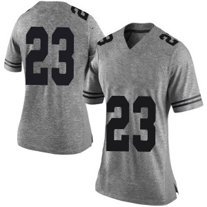 Jarrett Smith Nike Texas Longhorns Women's Limited Women Football College Jersey - Gray