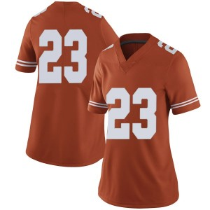 Jarrett Smith Nike Texas Longhorns Women's Limited Women Football College Jersey - Orange