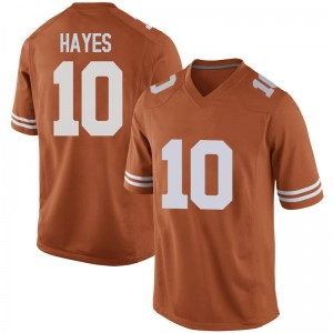 Jaxson Hayes Nike Texas Longhorns Men's Game Mens Football College Jersey - Orange