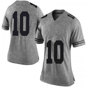 Jaxson Hayes Nike Texas Longhorns Women's Limited Women Football College Jersey - Gray
