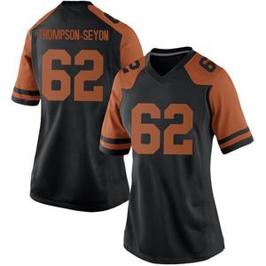 Jeremy Thompson-Seyon Nike Texas Longhorns Women's Game Women Football College Jersey - Black