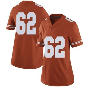 Jeremy Thompson-Seyon Nike Texas Longhorns Women's Limited Women Football College Jersey - Orange