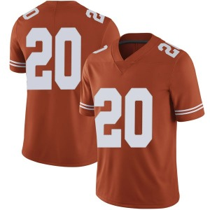 Jericho Sims Nike Texas Longhorns Men's Limited Mens Football College Jersey - Orange