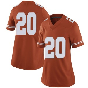 Jericho Sims Nike Texas Longhorns Women's Limited Women Football College Jersey - Orange