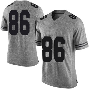 Jordan Pouncey Nike Texas Longhorns Men's Limited Mens Football College Jersey - Gray