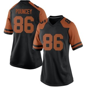 Jordan Pouncey Nike Texas Longhorns Women's Replica Women Football College Jersey - Black