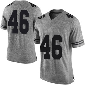 Joseph Ossai Nike Texas Longhorns Men's Limited Mens Football College Jersey - Gray