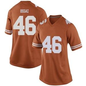 Joseph Ossai Nike Texas Longhorns Women's Game Women Football College Jersey - Orange