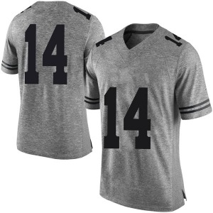 Joshua Moore Nike Texas Longhorns Men's Limited Mens Football College Jersey - Gray
