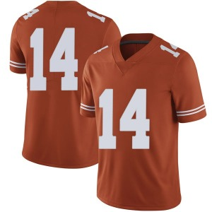 Joshua Moore Nike Texas Longhorns Men's Limited Mens Football College Jersey - Orange