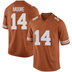 Joshua Moore Nike Texas Longhorns Men's Replica Mens Football College Jersey - Orange