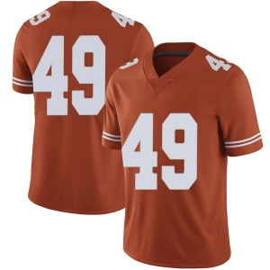 Joshua Rowland Nike Texas Longhorns Men's Limited Mens Football College Jersey - Orange