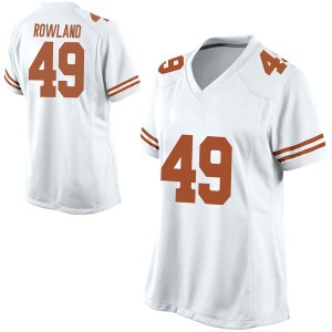Joshua Rowland Nike Texas Longhorns Women's Game Football College Jersey - White