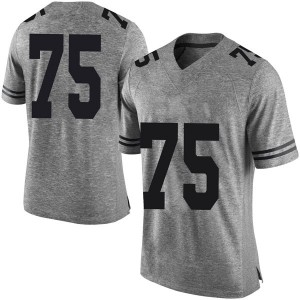 Junior Angilau Nike Texas Longhorns Men's Limited Mens Football College Jersey - Gray
