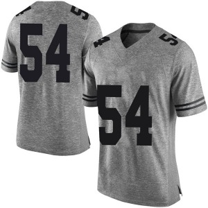 Justin Mader Nike Texas Longhorns Men's Limited Mens Football College Jersey - Gray
