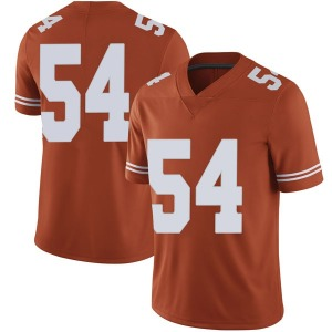 Justin Mader Nike Texas Longhorns Men's Limited Mens Football College Jersey - Orange