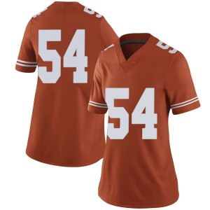 Justin Mader Nike Texas Longhorns Women's Limited Women Football College Jersey - Orange