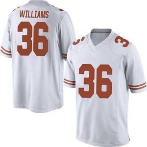 Kamari Williams Nike Texas Longhorns Men's Replica Mens Football College Jersey - White
