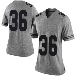 Kamari Williams Nike Texas Longhorns Women's Limited Women Football College Jersey - Gray