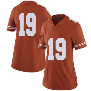 Kartik Akkihal Nike Texas Longhorns Women's Limited Women Football College Jersey - Orange