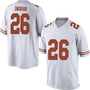Keaontay Ingram Nike Texas Longhorns Men's Replica Mens Football College Jersey - White