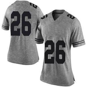 Keaontay Ingram Nike Texas Longhorns Women's Limited Women Football College Jersey - Gray