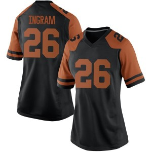 Keaontay Ingram Nike Texas Longhorns Women's Replica Women Football College Jersey - Black
