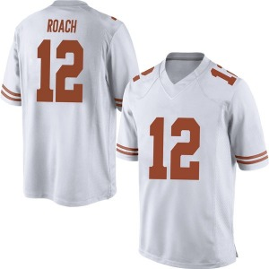 Kerwin Roach II Nike Texas Longhorns Men's Replica Mens Football College Jersey - White