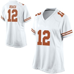 Kerwin Roach II Nike Texas Longhorns Women's Replica Football College Jersey - White