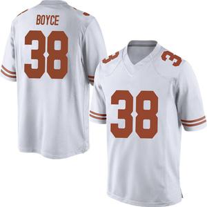 Kobe Boyce Nike Texas Longhorns Men's Replica Mens Football College Jersey - White