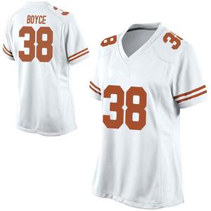 Kobe Boyce Nike Texas Longhorns Women's Replica Football College Jersey - White