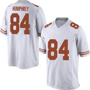 Lil'Jordan Humphrey Nike Texas Longhorns Men's Replica Mens Football College Jersey - White