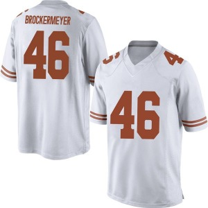 Luke Brockermeyer Nike Texas Longhorns Men's Replica Mens Football College Jersey - White
