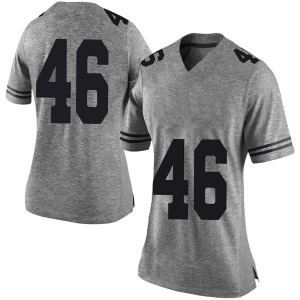 Luke Brockermeyer Nike Texas Longhorns Women's Limited Women Football College Jersey - Gray