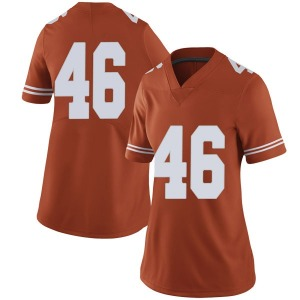 Luke Brockermeyer Nike Texas Longhorns Women's Limited Women Football College Jersey - Orange