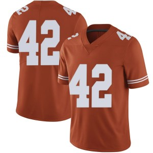 Marqez Bimage Nike Texas Longhorns Men's Limited Mens Football College Jersey - Orange