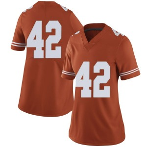 Marqez Bimage Nike Texas Longhorns Women's Limited Women Football College Jersey - Orange